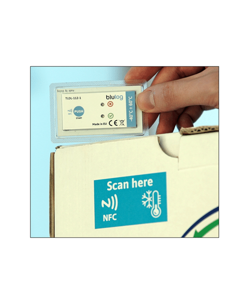 Transport your fresh and frozen prducts with isothermal rerigerated and autonomous container from COLD & CO. Garantee your temperature with NFC recorder.