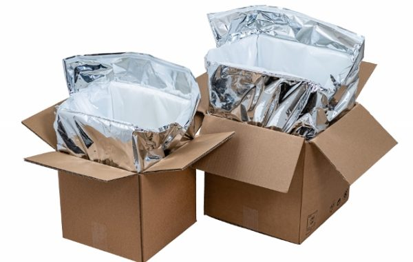 12L insulated packaging for safe transport of cold and frozen food products. Guaranteed cold-keeping for 24 hours, 48 hours.