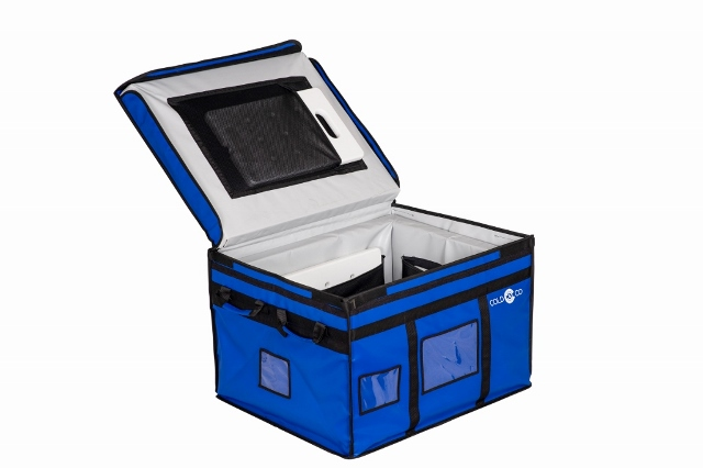 Insulated,thermal and self-contained container box ideal for the delivery of your fresh products in a standard commercial vehicle. ATP certified.