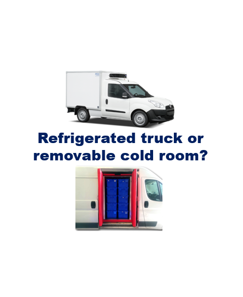 Refrigerator truck or removable cold room? COLD & CO's insulated boxes and boxes offer you flexibility for the transport of your fresh and frozen products in a utility vehicle.