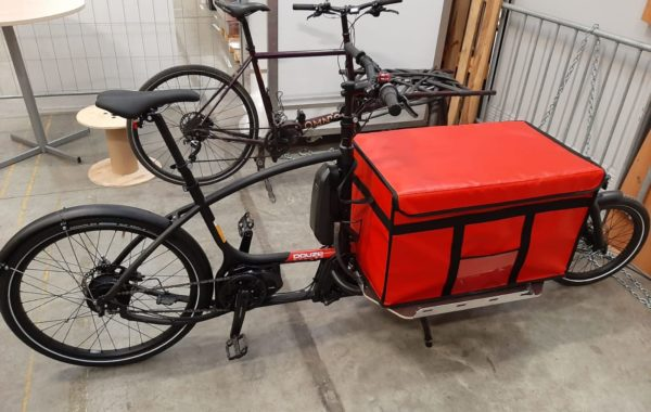 Cargo Bike Twelve with a CarryTemp 84L Refrigerated Insulated COLD & CO