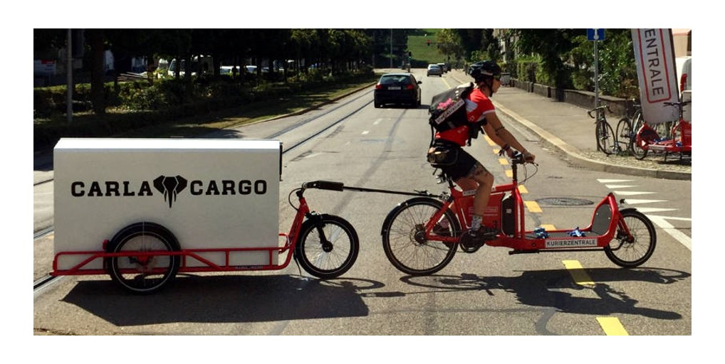 The new soft mode of delivery by bicycle or cyclologistic. Overview of the different bicycle trailers for eco-responsible deliveries.