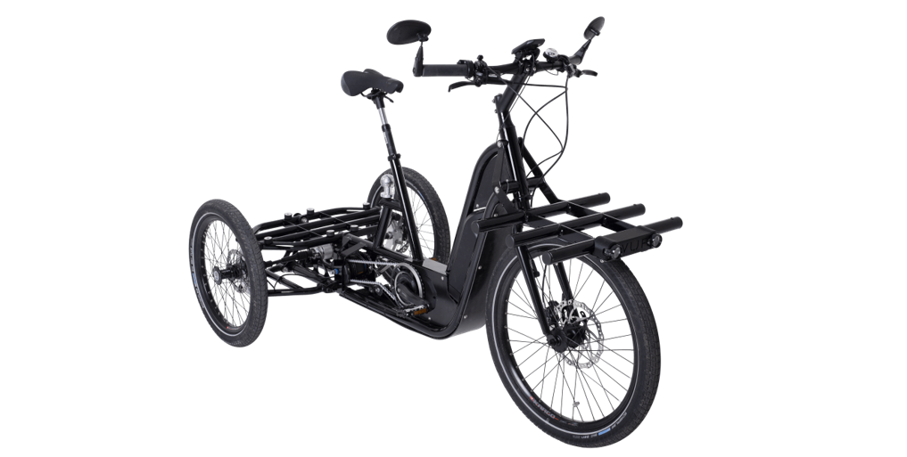 The new soft mode of delivery by bicycle or cyclologistic. Overview of the different cargo bike with rear-load for eco friendly deliveries of fresh products.